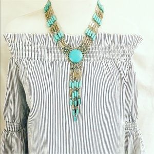 New Very Stunning Statement Necklace & Earrings